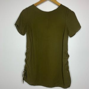 Atmosphere Olive Green Blouse